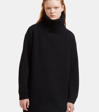 Disa Oversized Ribbed Knit Sweater