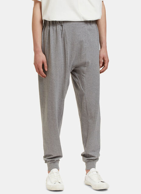Oversized Dropped Crotch Track Pants