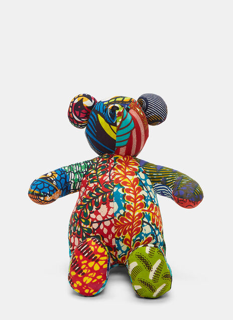 African Pattern Teddy 2