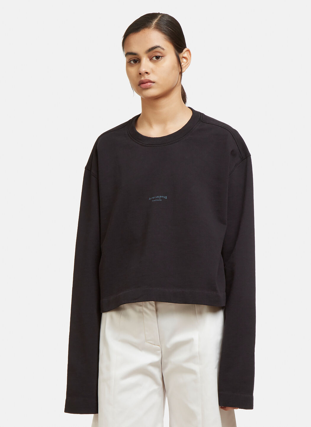 Stockist Online Cheap Price From China Odice Sweater in Black Acne Studios Largest Supplier For Sale Purchase Cheap Get New JnrjxHrPu
