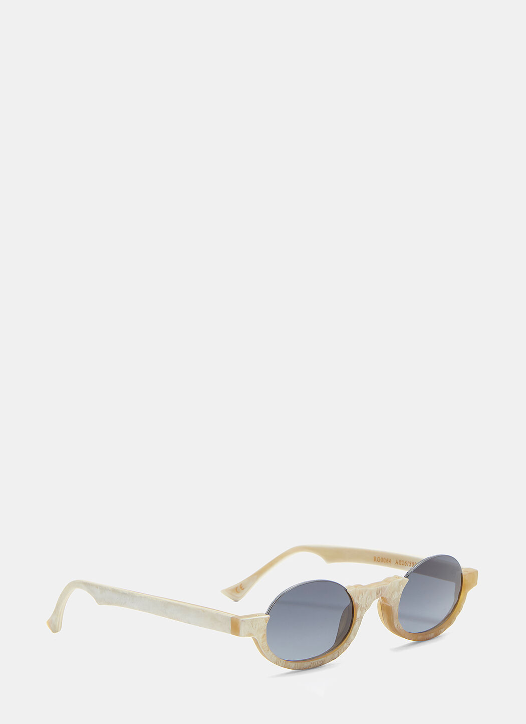Unisex 0064 Sunglasses in Beige