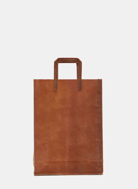 F Waxed Canvas Bag