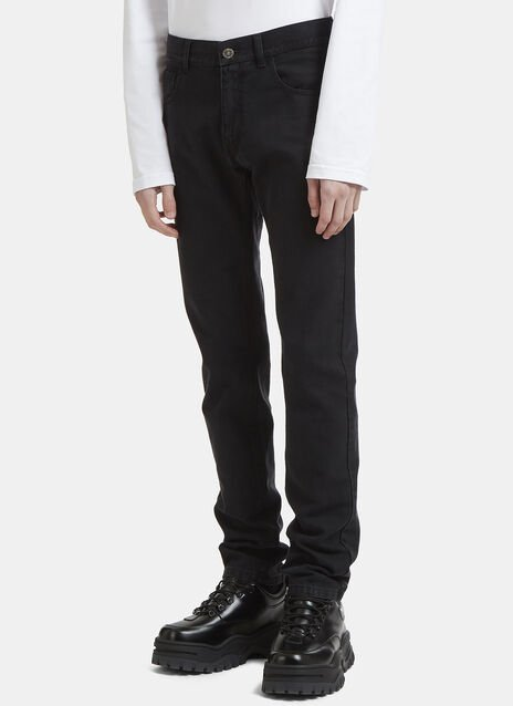 Raf Simons CV Denim Pants