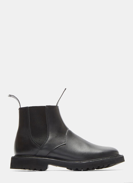 Trickers Vibram-Soled Leather Chelsea Boots