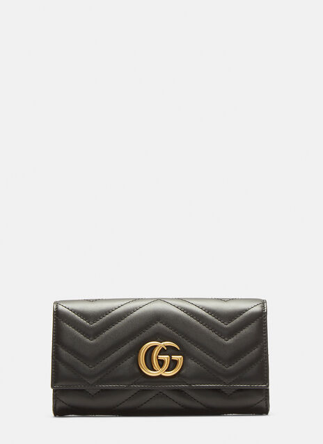Marmont Monogram Quilted Wallet