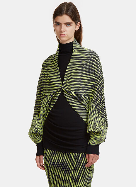 Plasma 1 Wave Pleat Cardigan