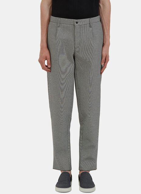 Oversized Gingham Pants