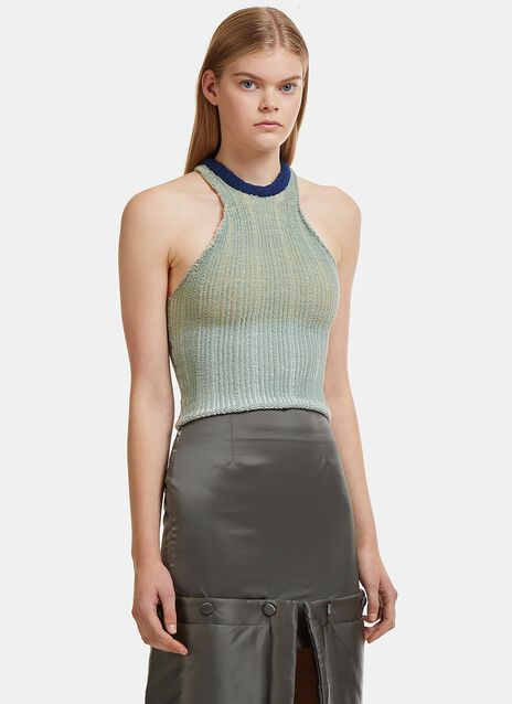 Slinky Chunky Knit Tank Top