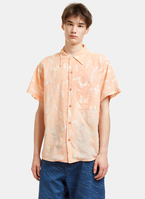 Shore Print Short Sleeved Shirt