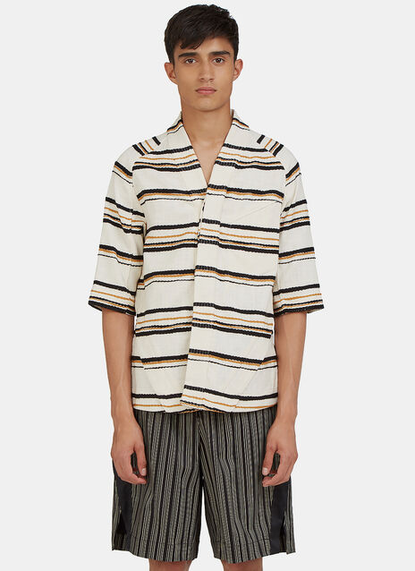 Arc Desert Short Sleeved Striped Shirt