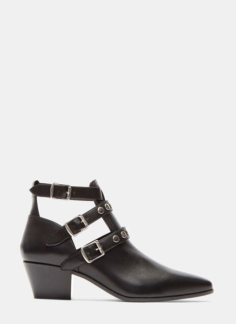 Rock 40 leather Ankle Boots