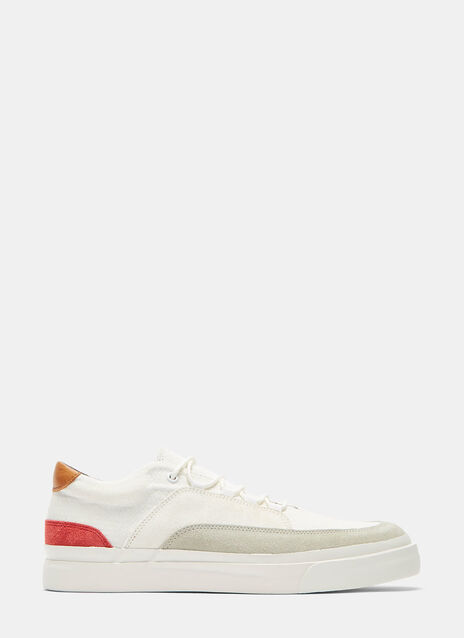 Shijira Contrast Panelled Low-Top Sneakers