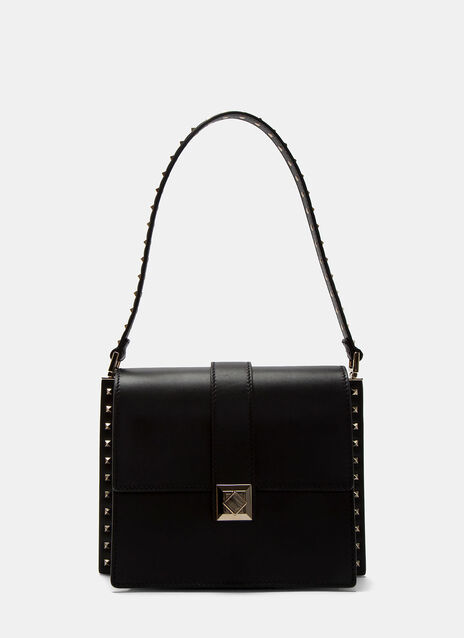 Rockstud Boxy Trunk Shoulder Bag