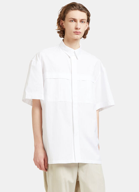 Derek Oversized Short Sleeved Shirt