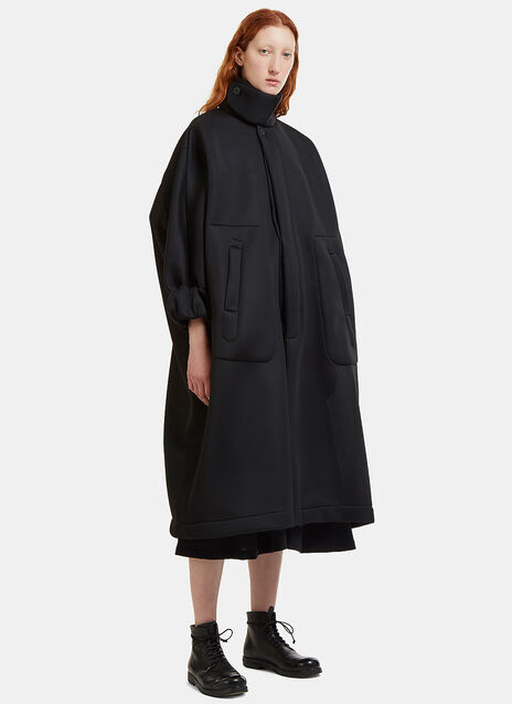 Oversized Mesh Family Coat