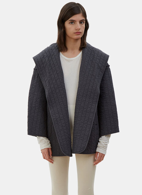 Oversized Kendo Hooded Jacket