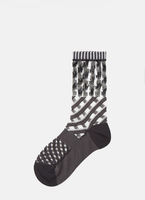 Double Stream Texture Socks