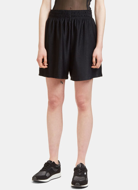 Basket Ribbed Shorts