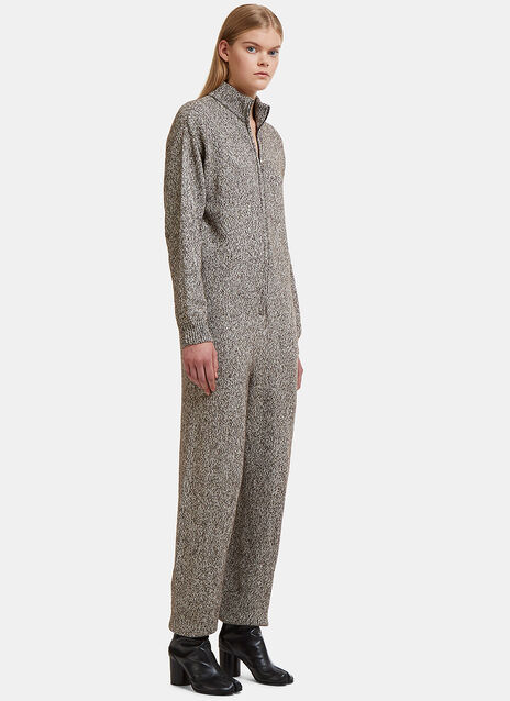 Baserange Gerda Speckled Knit Jumpsuit