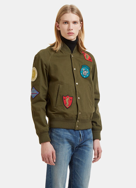 Patches Teddy Jacket