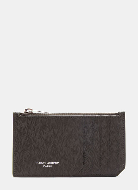 Paris 5 Fragments Grain de Poudre Zip Wallet