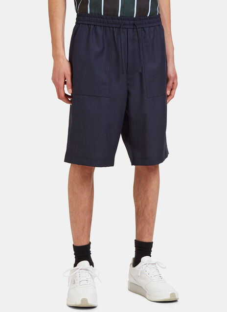 Bermuda Patch Pocket Shorts