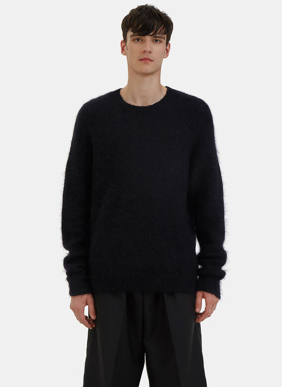 Acne Studios Kosti Mohair Crew Neck Sweater