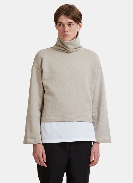 Oversized Funnel Neck Sweater