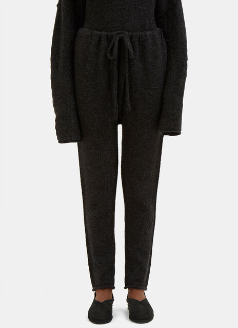 Arch Knitted Track Pants