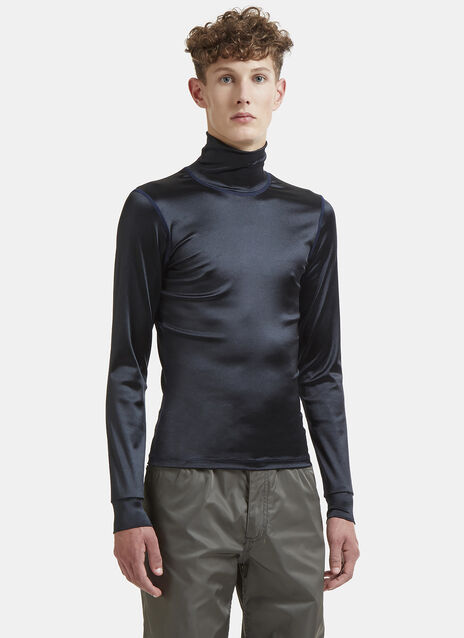 Sleek Turtleneck Top