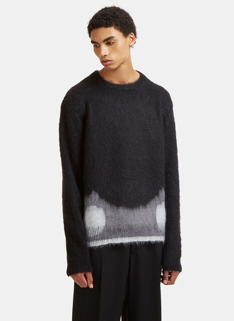 Moth Hem Alpaca Knit Sweater