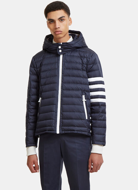 Detachable Hood 4 Bar Padded Ski Coat