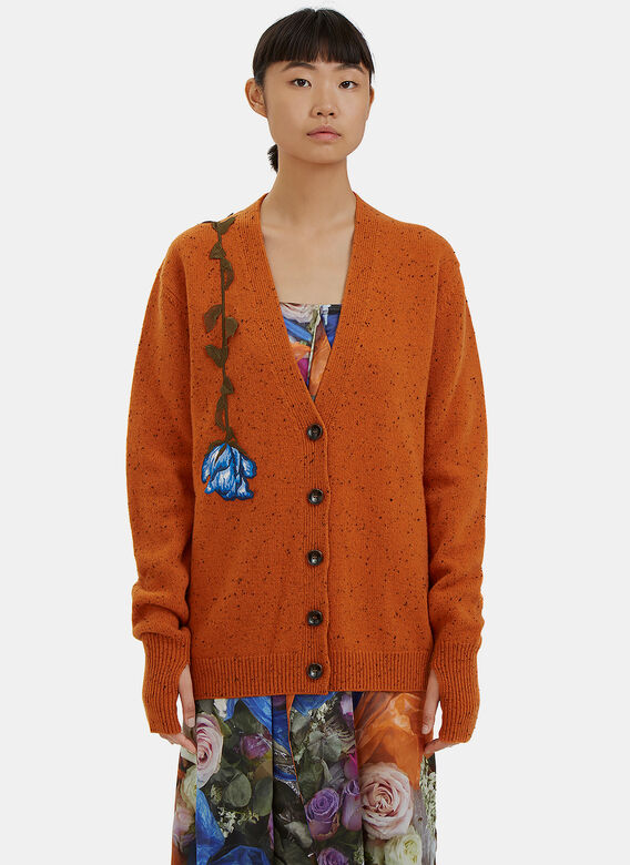 Calvin Klein Collection Embroidered Cardigan