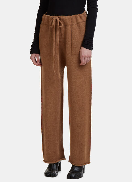 Lauren Manoogian Straight Leg Knit Track Pants