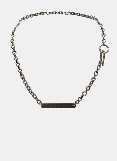 Number Line Chain Necklace