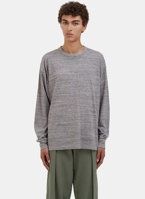 Oversized 'A Lot to Learn' Long Sleeved T-Shirt