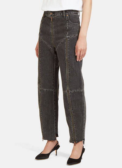 Levi's Reworked Zipped Jeans