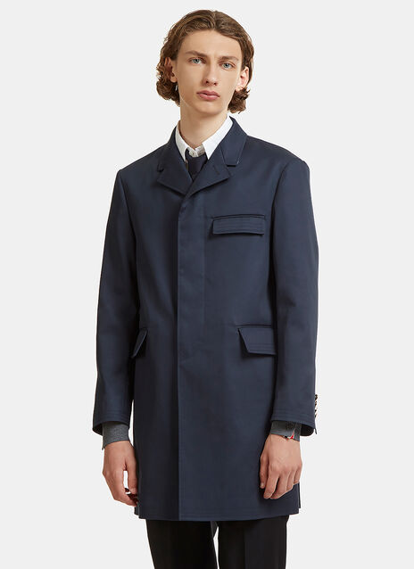 Chesterfield Taped Seam Mackintosh Coat