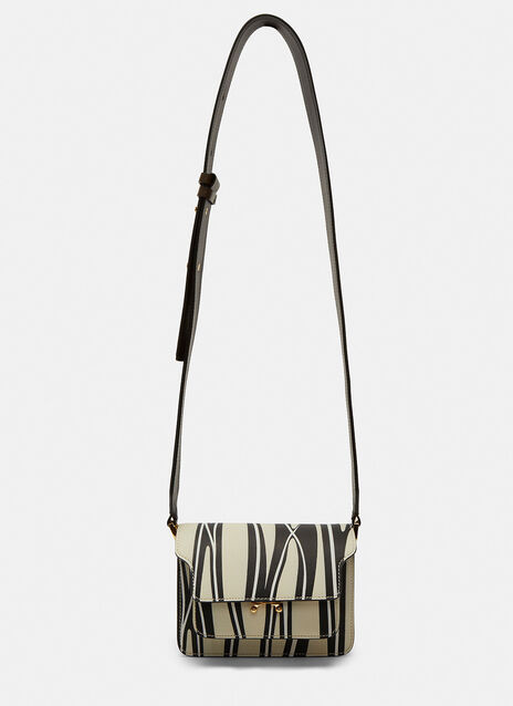 Printed Mini Trunk Shoulder Bag