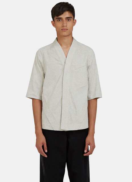 Arc Desert Short Sleeved Flecked Shirt