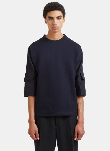 Boxy Cargo Pocket Sleeved T-Shirt