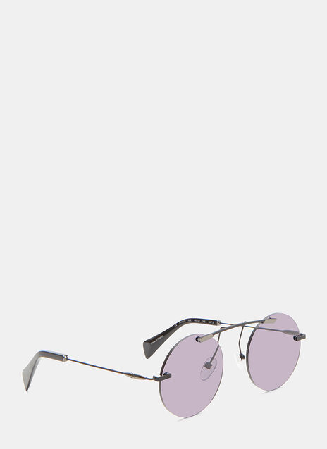 YY7011 Frameless Round Sunglasses