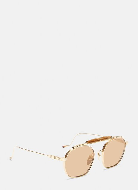 Jacques Marie Mage Victorio Round Frame Sunglasses