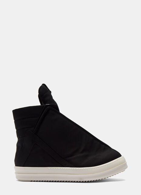 High-Top Shielded Sneakers