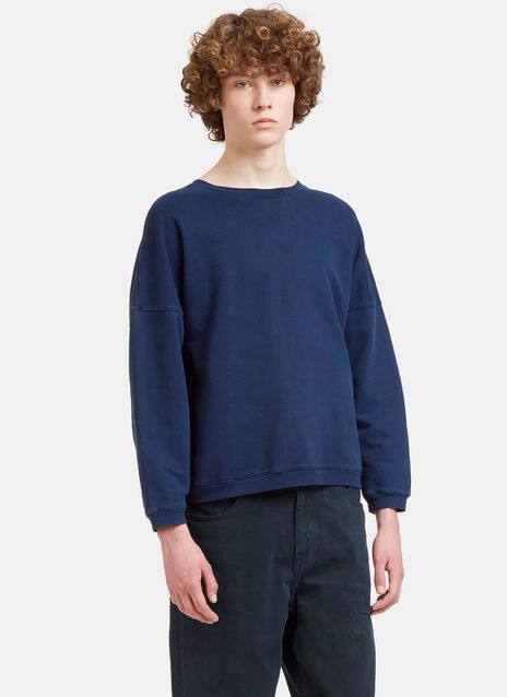 Dropped Shoulder Jersey Sweater