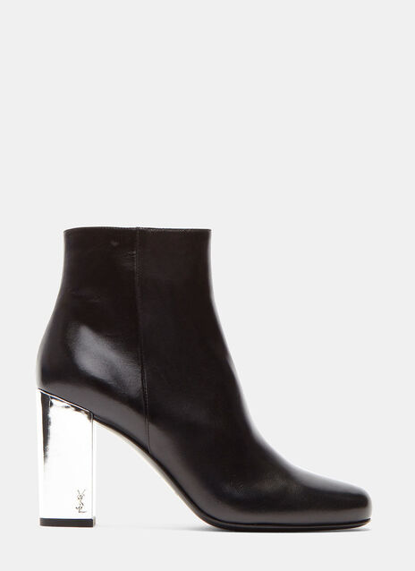 Babies 90 Mirrored Heel Ankle Boots