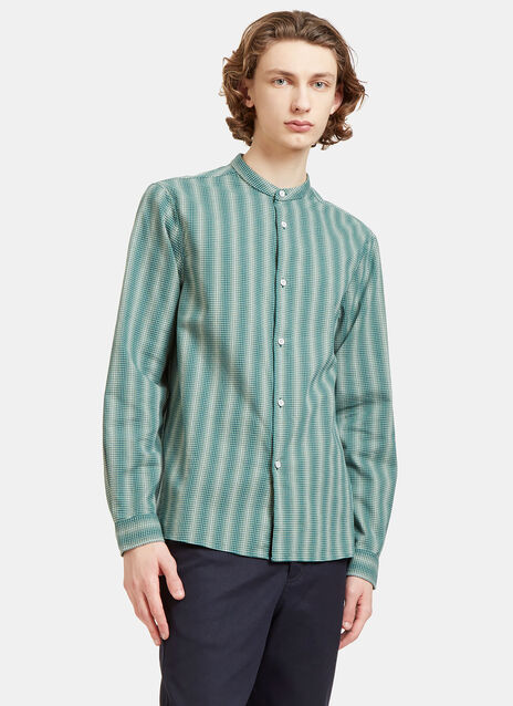 Pine Ombré Mini Checked Shirt