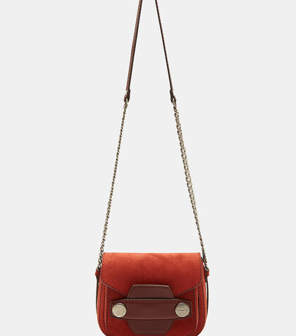 Small Oxidised Stud Shoulder Bag