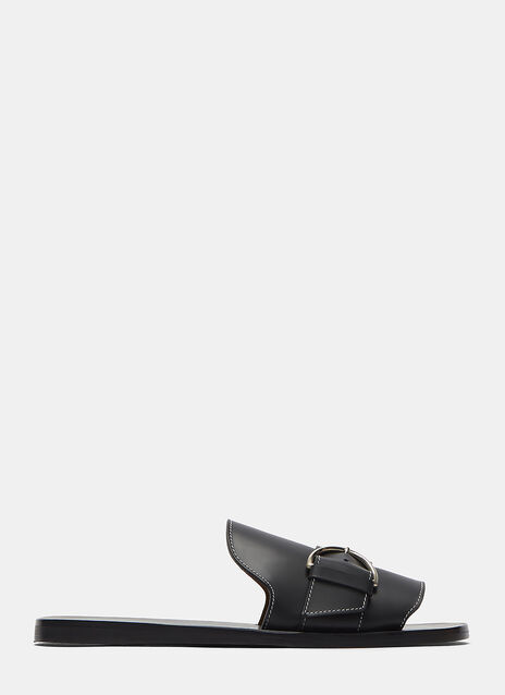 Virgie Buckled Slide Sandals
