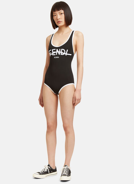 Roma Logo Swimsuit